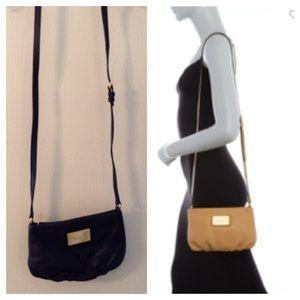 MARC JACOBS - Black Leather Crossbody Bag
